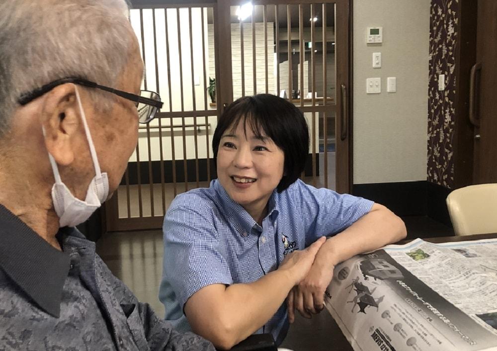葵区_介護職